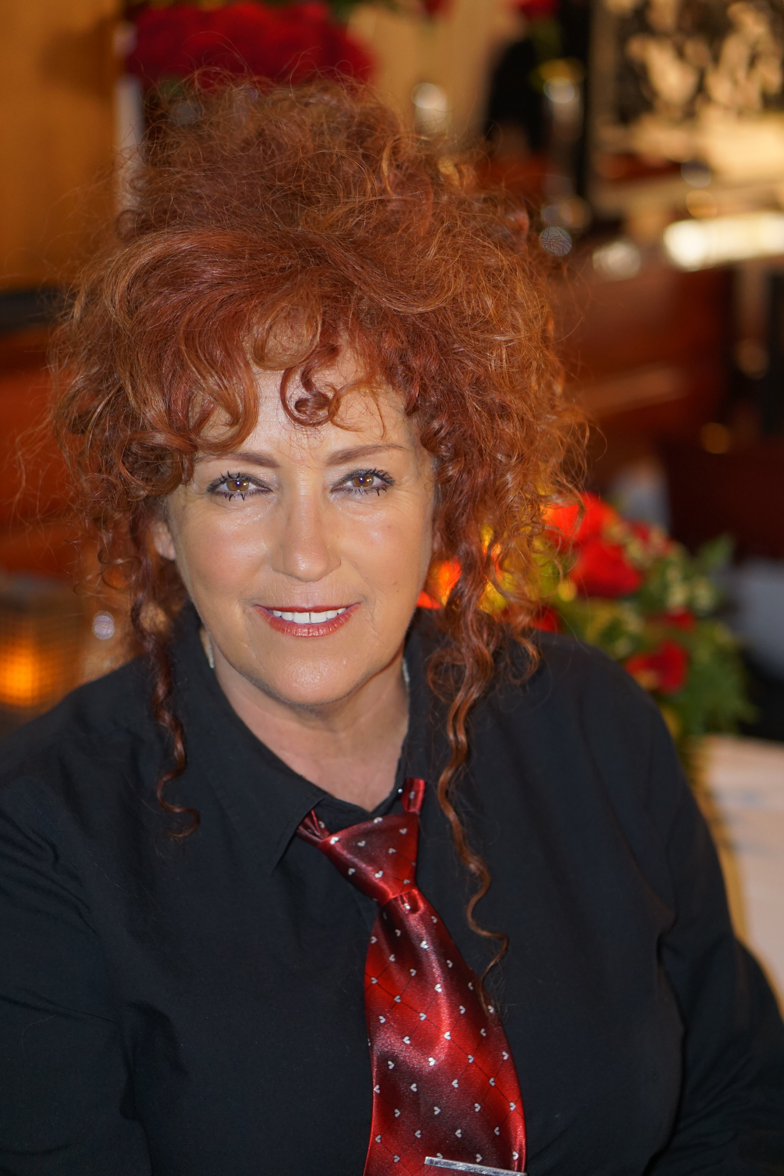Deannes personality - is just as fiery as her red hair! In a good way her energy brings a zest of life to explain our menu to customers or exploring who they are so that they many enjoy themselves to their best capabilities made possible by the Vienna team!