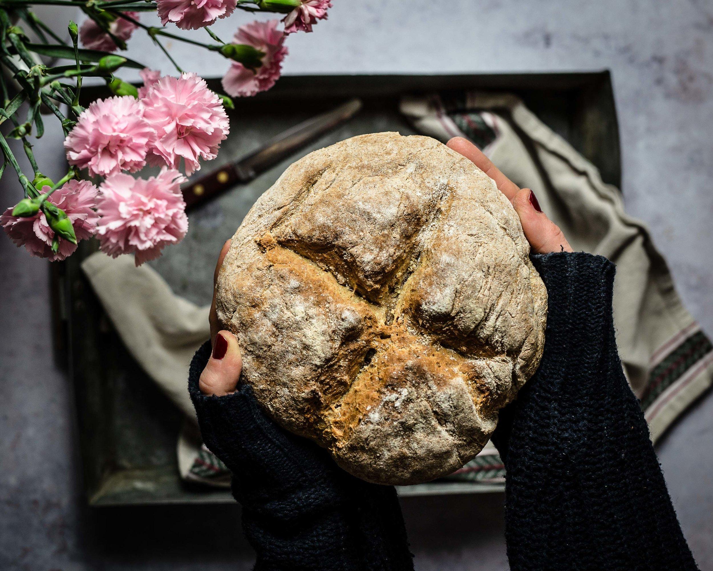 Das fertige Brot in seiner ganzen Pracht.