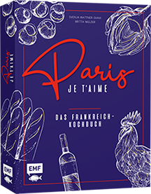 Buch Cover Paris Je t'aime