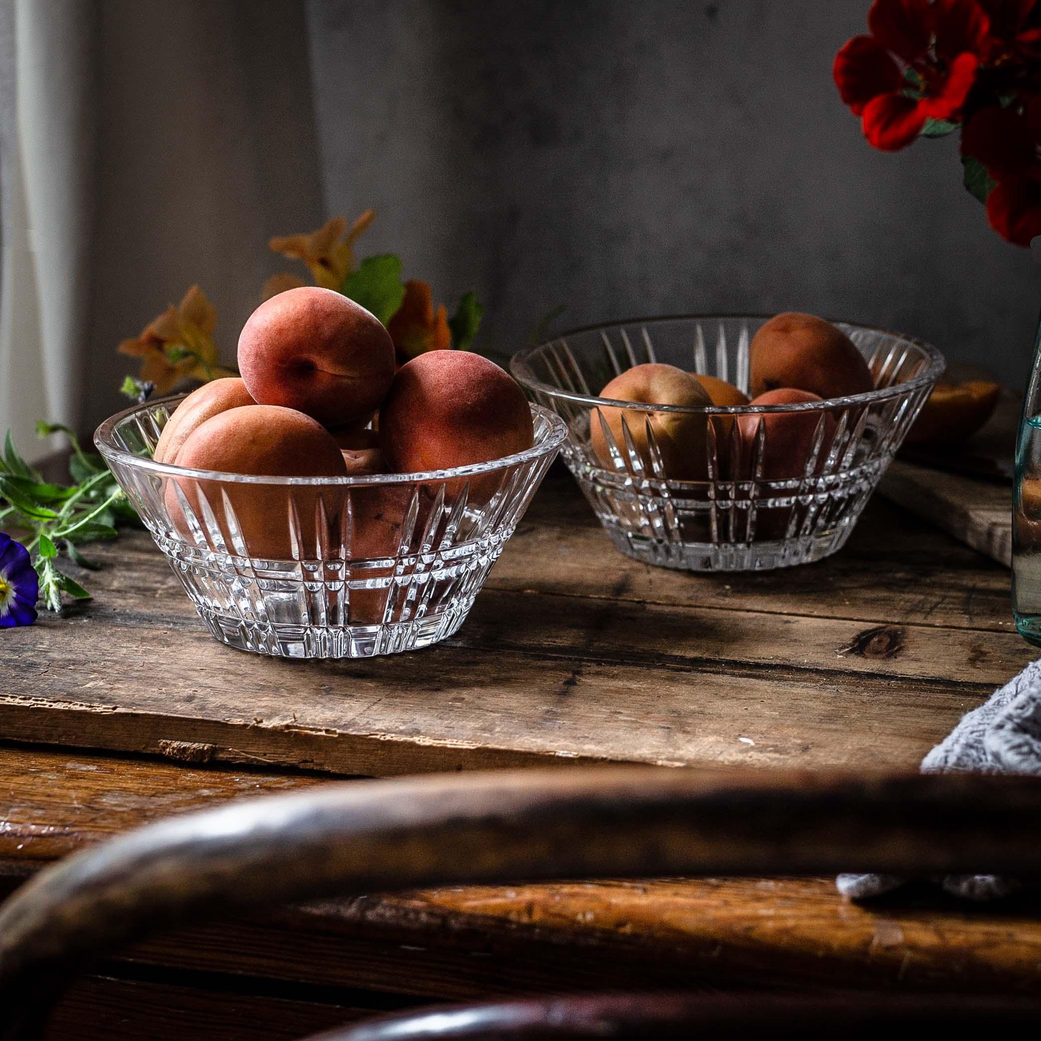 Die Aprikosen sind auch pur bereits zuckersüß.