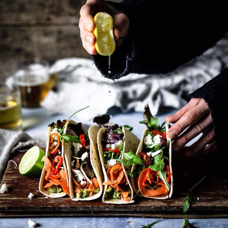 Tacos - Rezept und Foodstlying