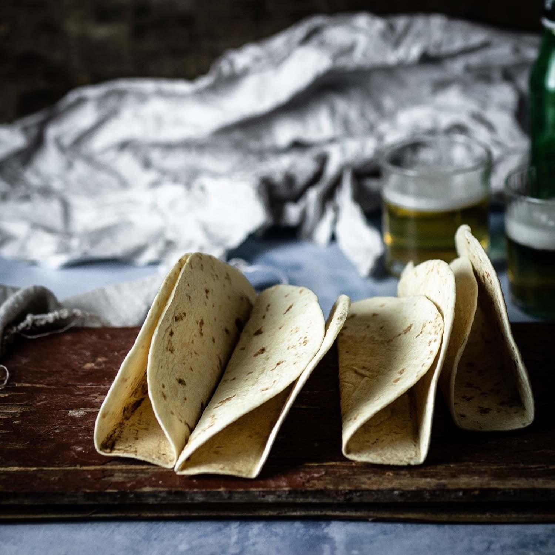 Rezept - Vorbereitung der Tortillaschalen