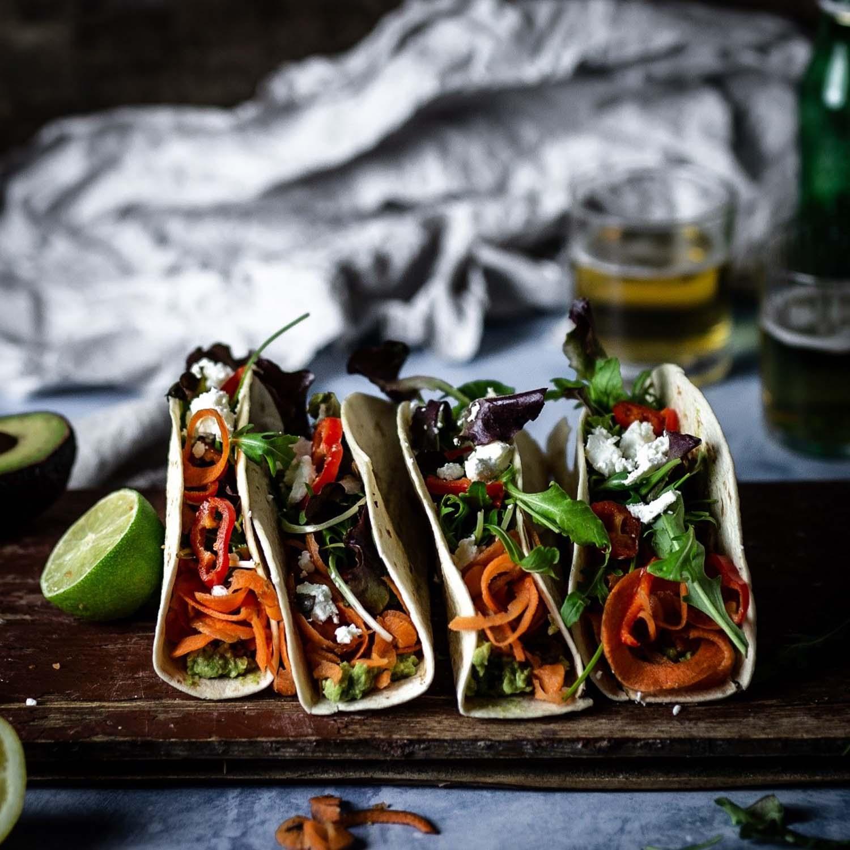 Gefüllte Tacos - Leckeres und leichtes Mittagessen - Foodstyling Tipps