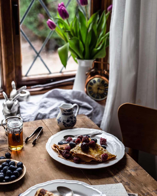 Das Frühstück ist fertig….