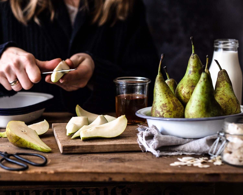 Rezept Apfel Birnen Crumble