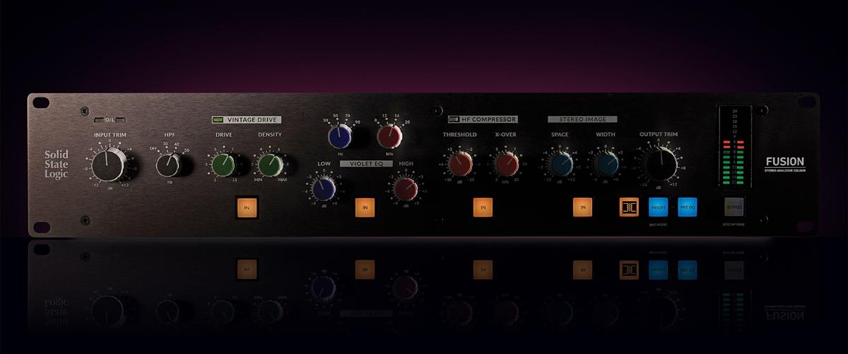 SSL Fusion - stereo outboard processor