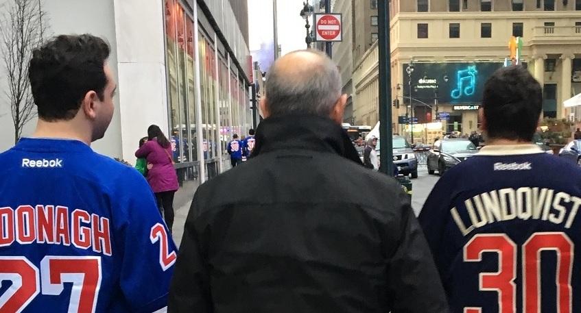 MATCHER - Resan 28.e marsNew York Rangers - St Louis BluesResan 4.e aprilNew York Rangers - Columbus Blue Jackets