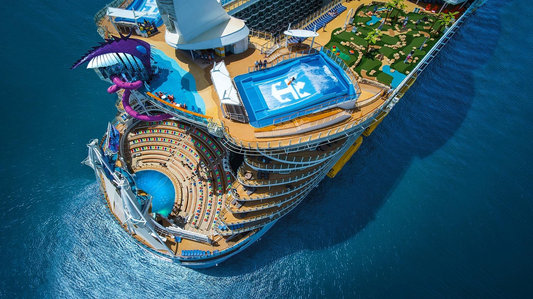 Royal Caribbean - Familjen i fokus. Royal Caribbean har flera fina rutter från Miami, Port Canaveral och Fort Lauderdale. Massor av aktiviteter ombord.