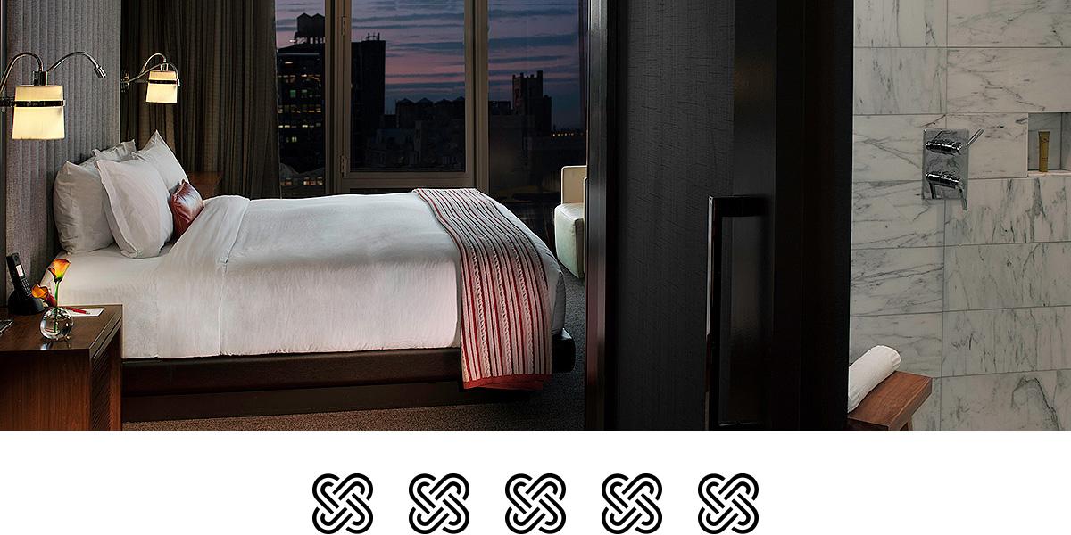 Supreme - Kimpton Hotel Eventi Beläget mitt på Manhattan, med Madison Square Garden runt hörnet, ligger detta lyxhotell. Hotellet har faciliteter, spa och mat i yppersta världsklass. Med gångavstånd till flera sevärdheter är det här hotellet en dröm att spendera sex nätter på.Pris från 19 990 kr(Pris för avresa i januari från 18 990 kr)