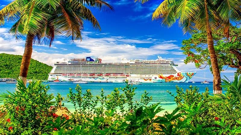 Karibien - Klicka här för att söka bland alla kryssningar som Norwegian har i Karibien.
