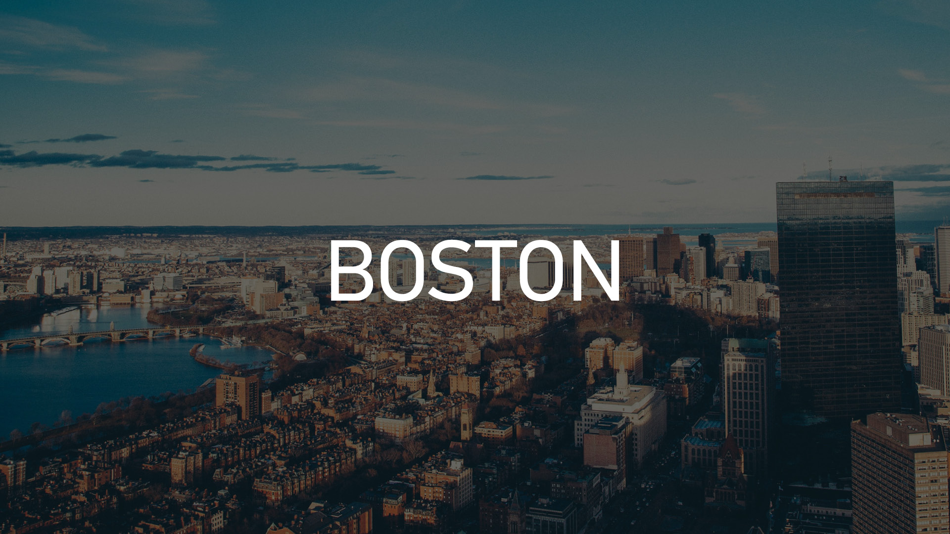 Boston - den lilla storstaden