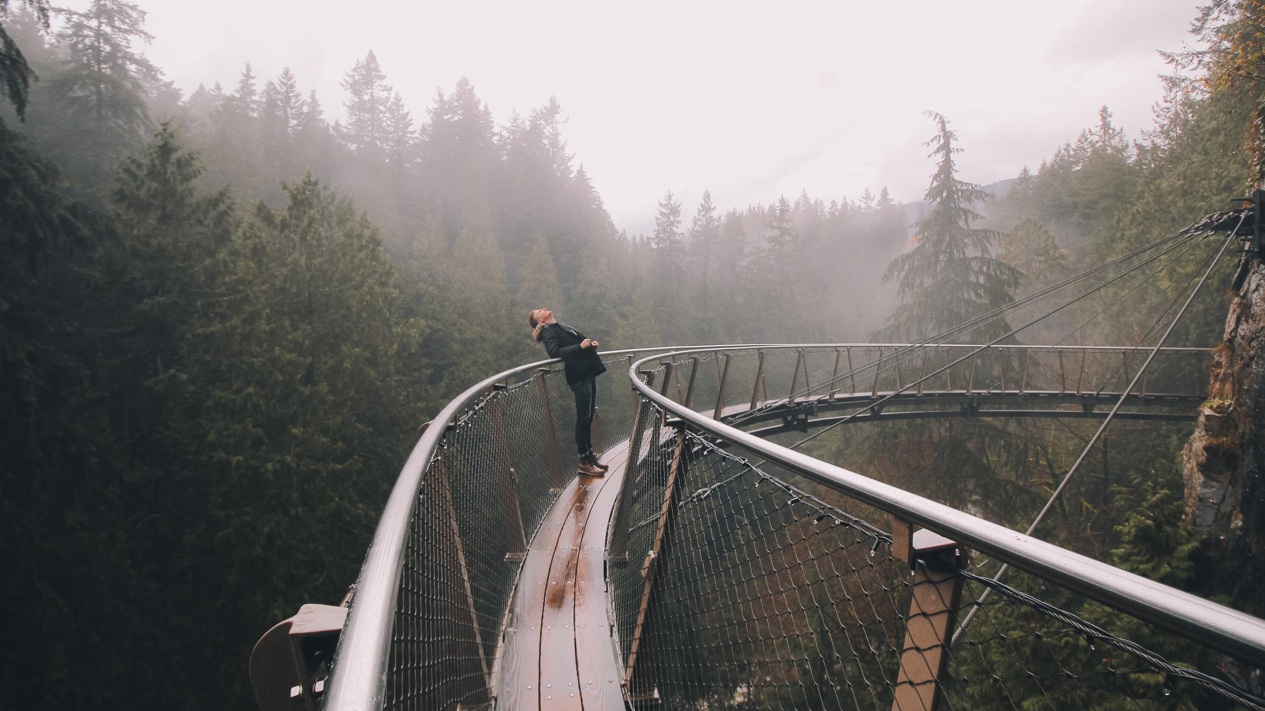 Grouse Mountain & Bridge Park - Andas in den friska luften och vandra i vackra Capilano Suspension Bridge Park när du under 6,5 timmar upptäcker Grouse Mountain. På resan hit får du även fantastisk utsikt och chans till otroliga foton från Lions Gate Bridge.