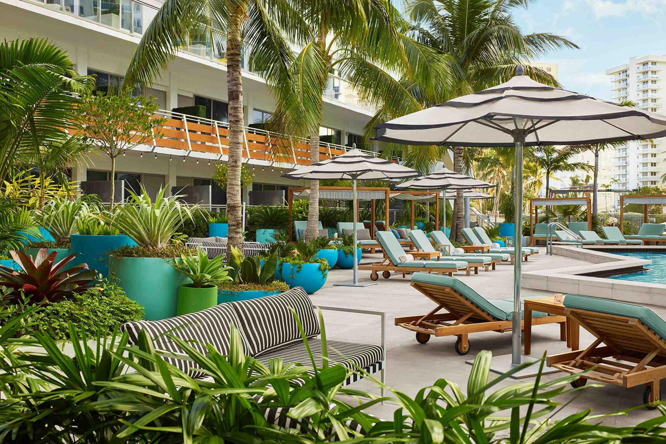 The Gates Hotel Miami  Härligt hotell nära South Beach. Mycket nära till Stranden.
