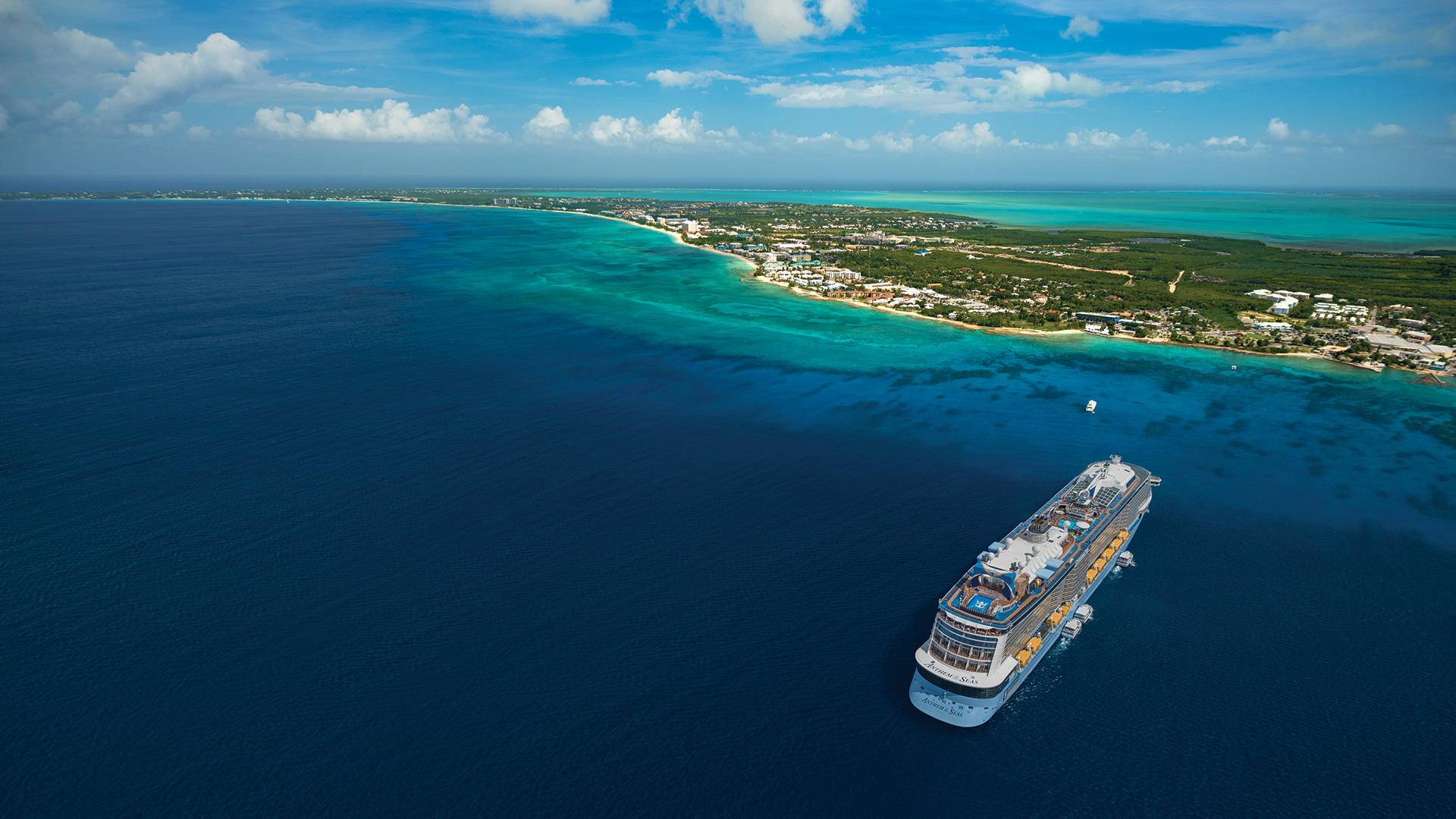 Exotiska Bahamas med Anthem of the Seas - Den här kryssningen avgår från New York 15 februari och tar dig under åtta nätter till några av Bahamas vackraste öar. Du går också i land i Port Canaveral som är porten till bland annat Disney World. Från 10 582 kronor per person.