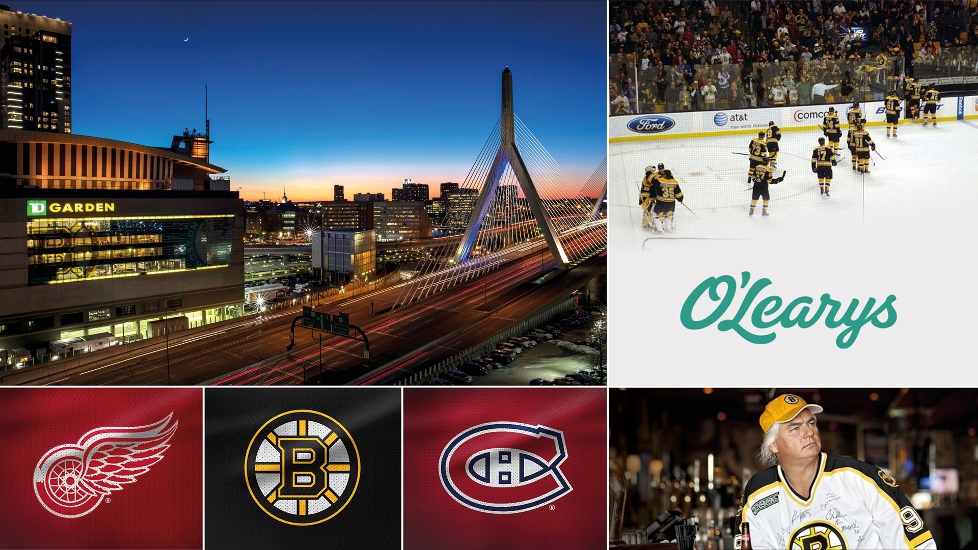 NHL-resa till Boston - med O'Learys - 11 - 17 Februari 2020 | Unik Paketresa till den fantastiska sportstaden Boston med O'Learys för att se fjolårets finallag Boston Bruins i två NHL-matcher och NBA med anrika Boston Celtics. Dessutom är O'Learys grundare Jonas Reinholdsson färdledare på den här fantastiska hockeyresan till Boston.
