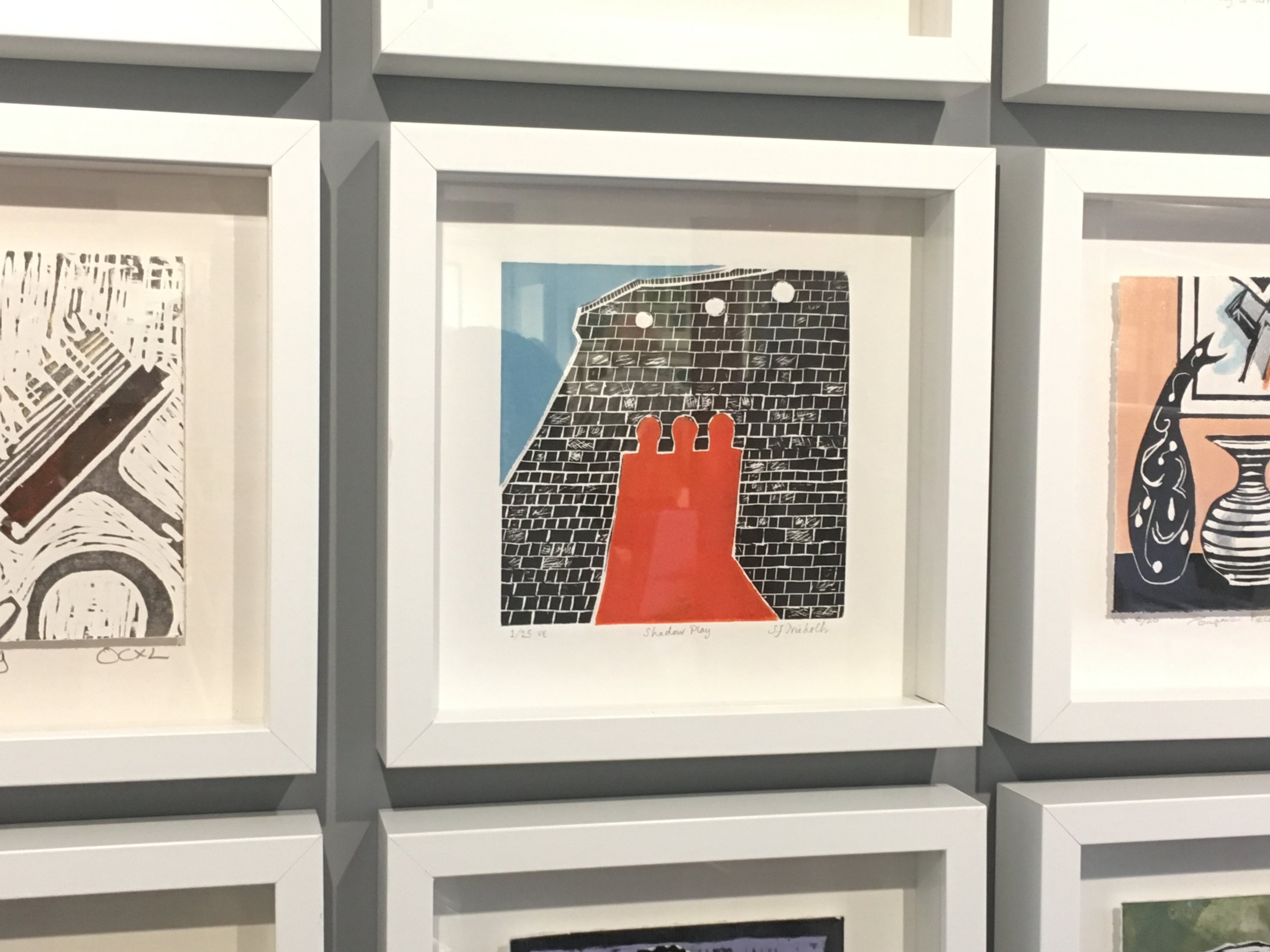 Happenstance Print Exhibition at Parndon Mill