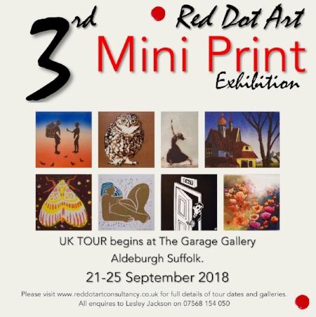 Red Dot Mini Print Exhibition