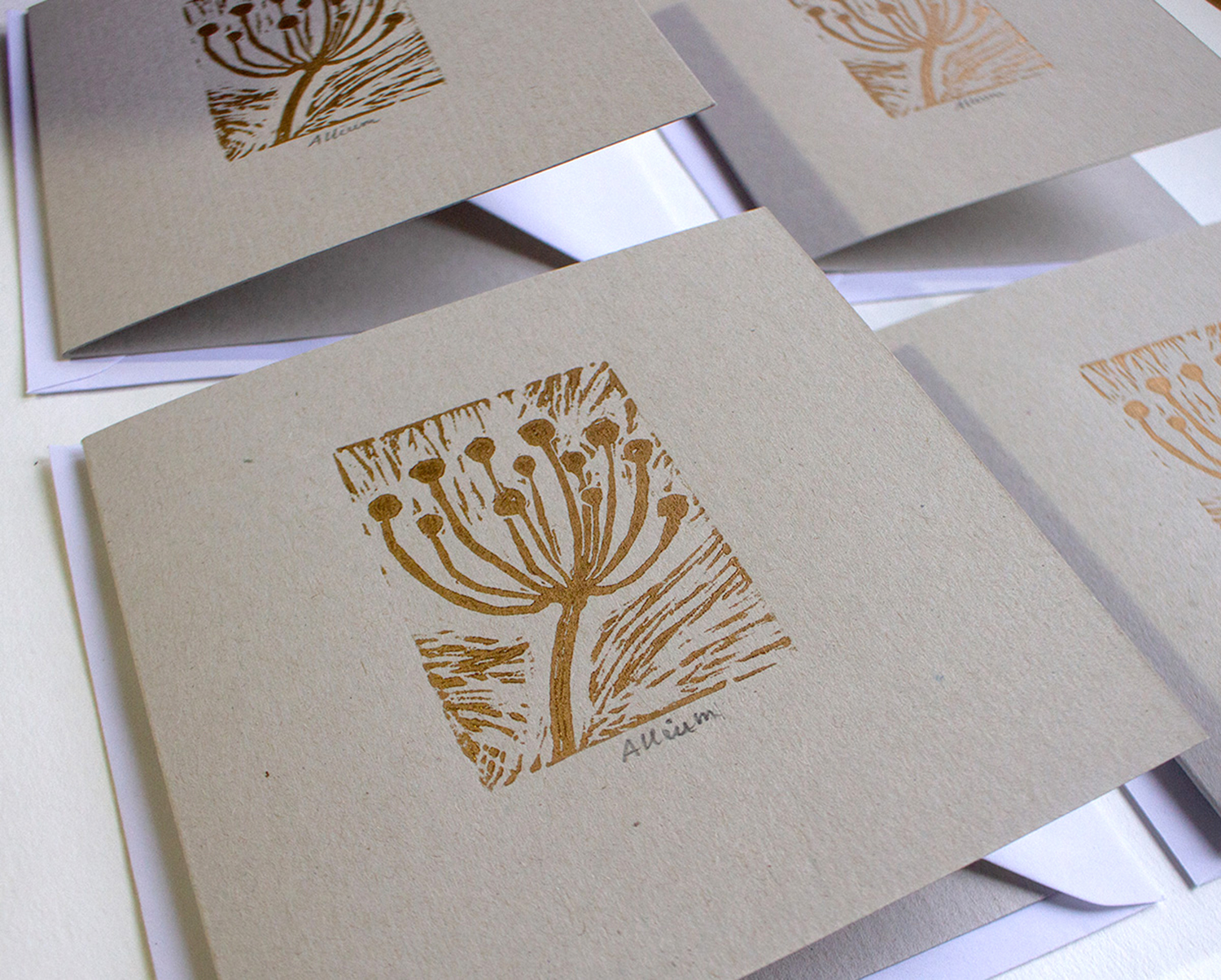 Gold Allium Christmas Card.jpg