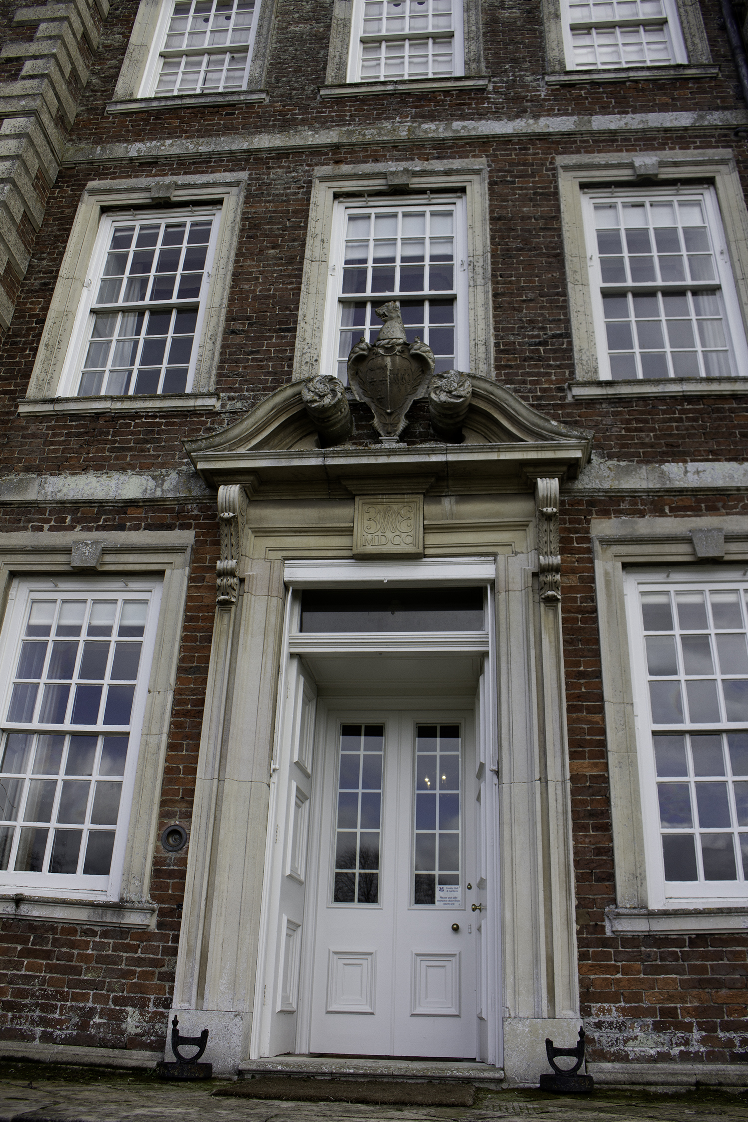 Gunby Hall, Front Entrance