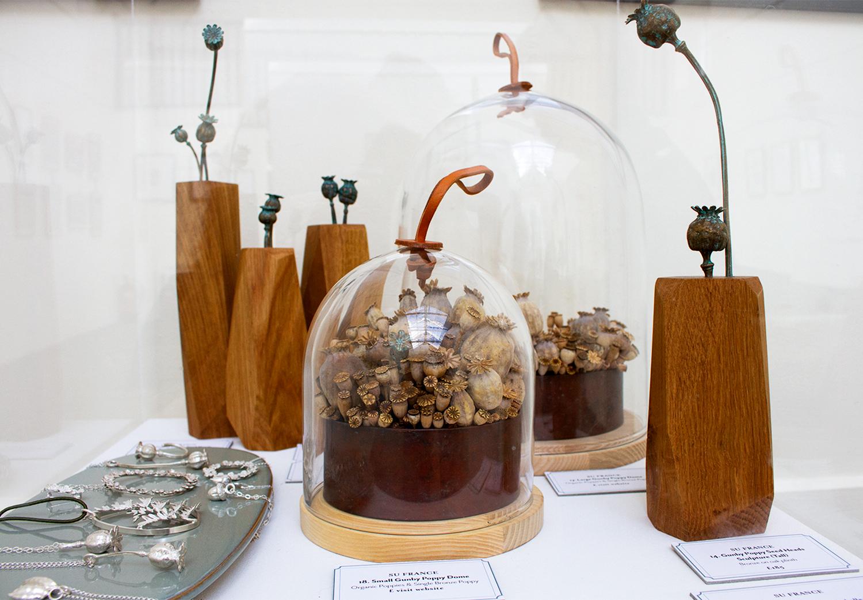 Su France - Poppies (organic and bronze)