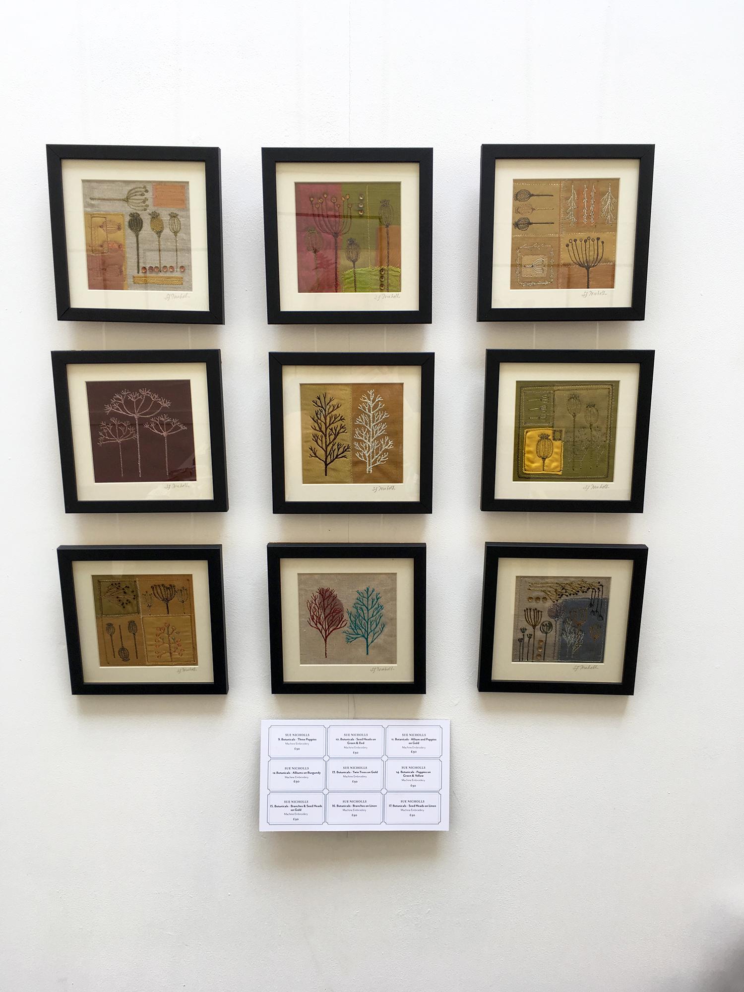 Sue Nicholls - Botanicals Embroidery Collection
