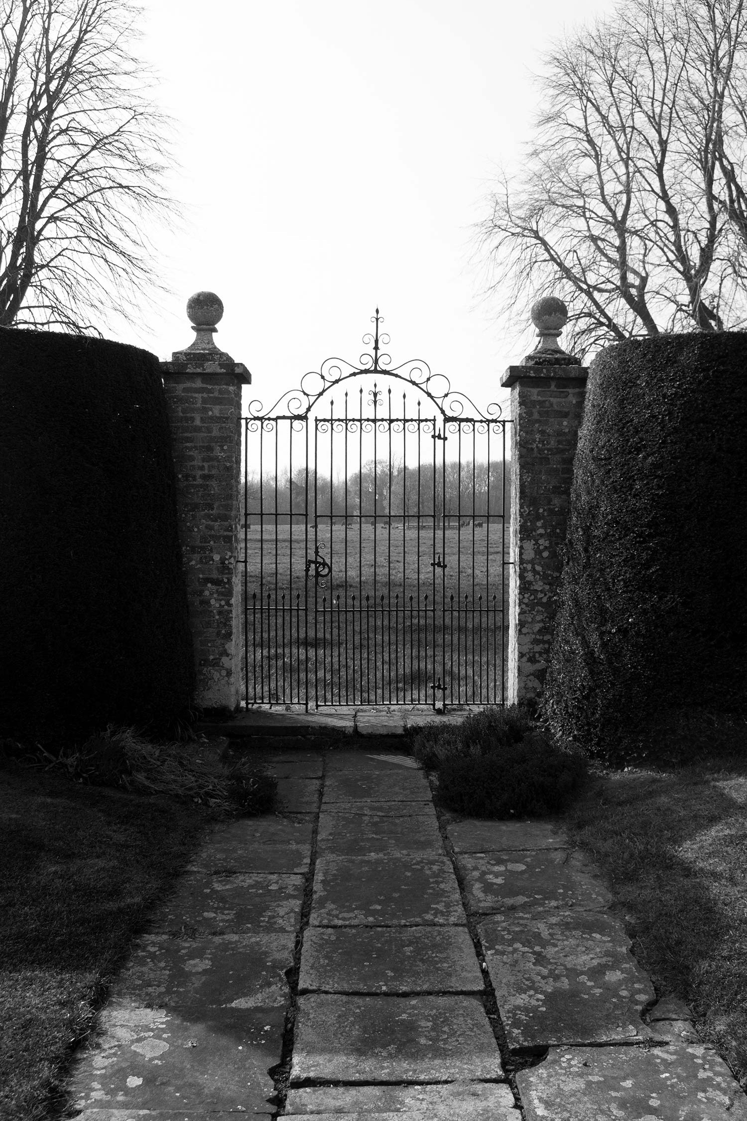 Gunby Hall Front Gate