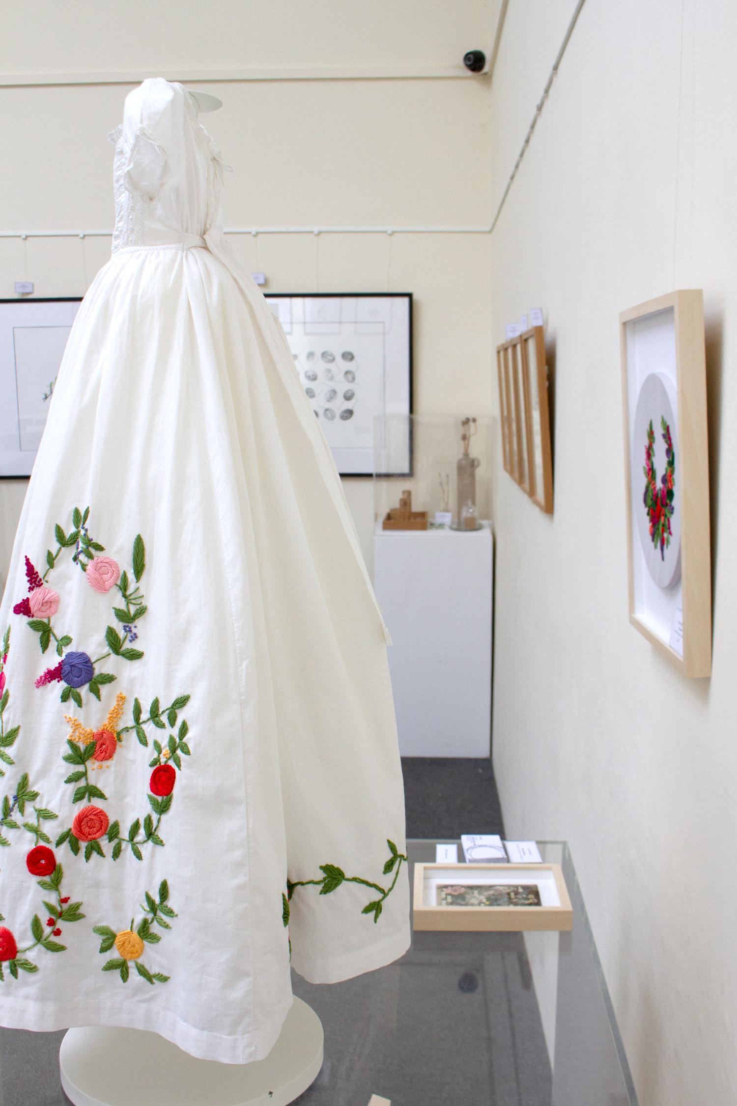 Helen Wilde's Embroidered work