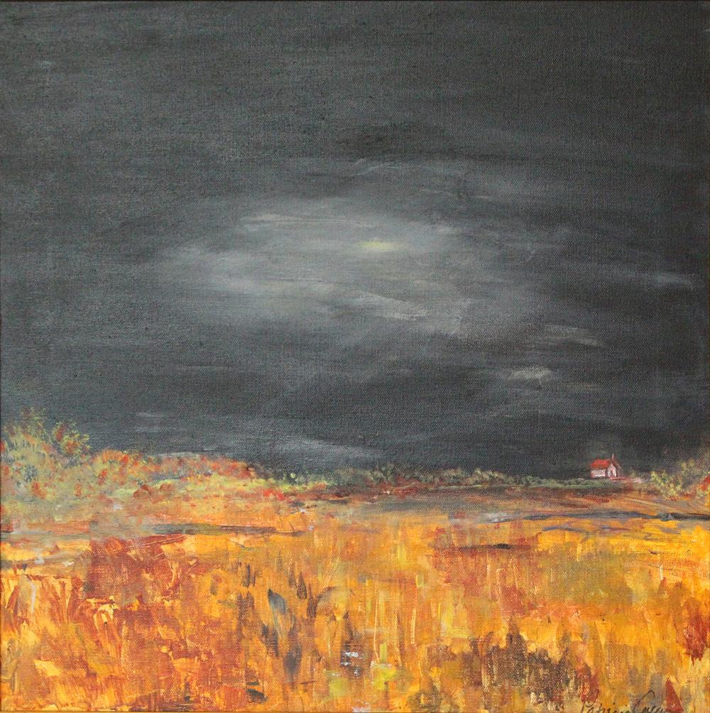 'Field's ablaze'