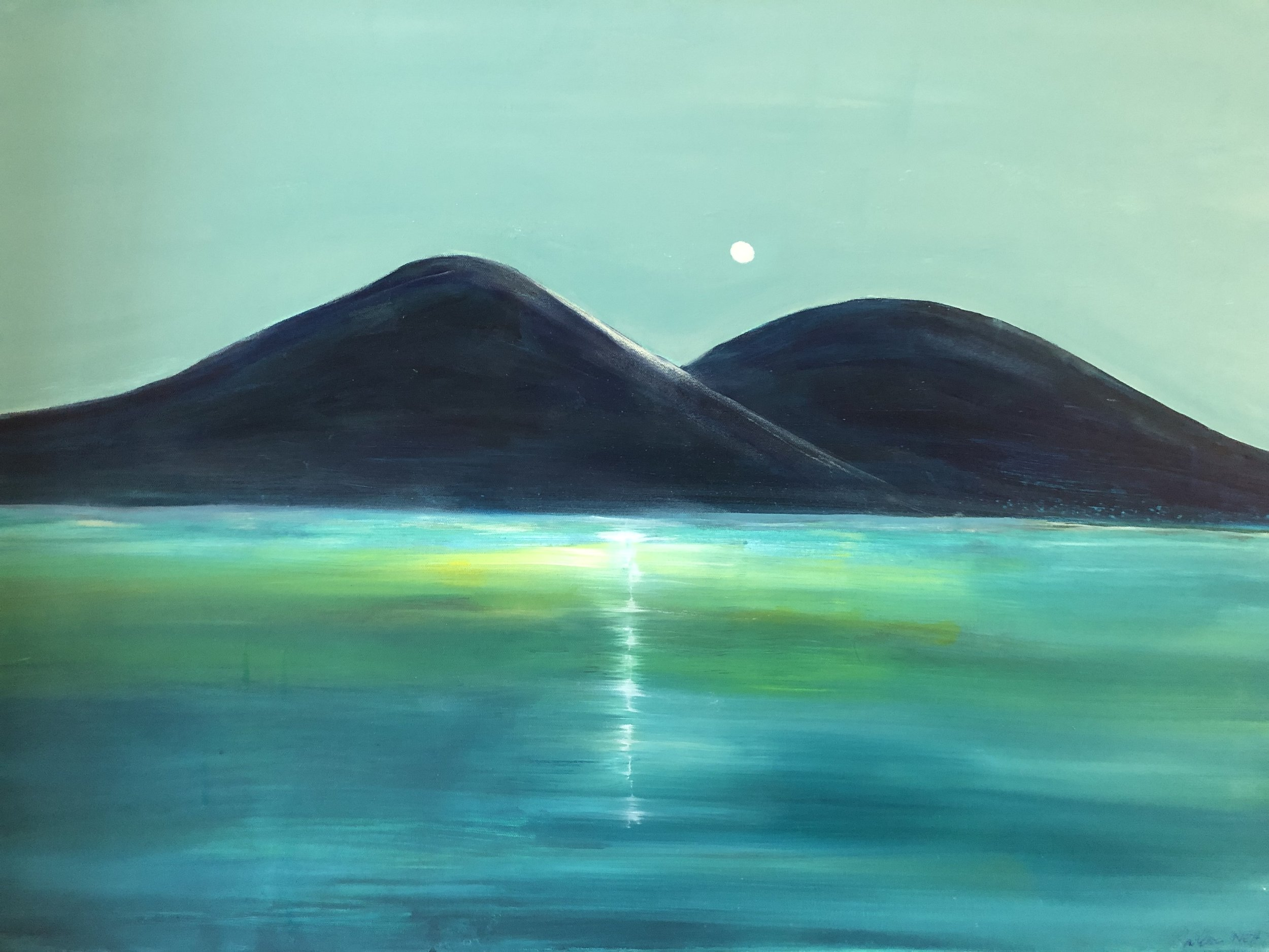 'Bubbles Mountains in Mount Desert Island, ME'