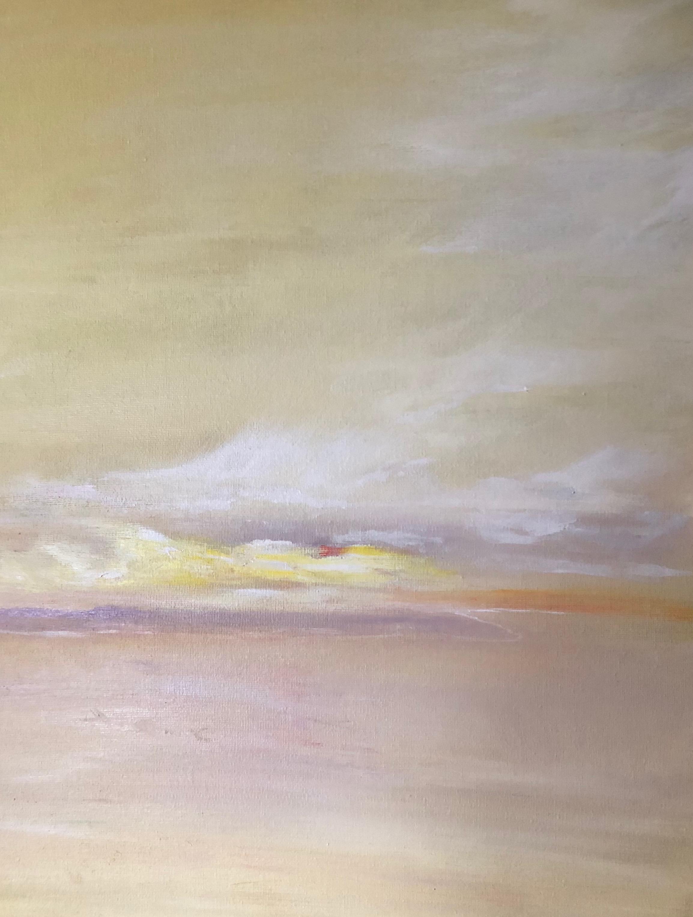 'Golden Light in Jericho Bay'