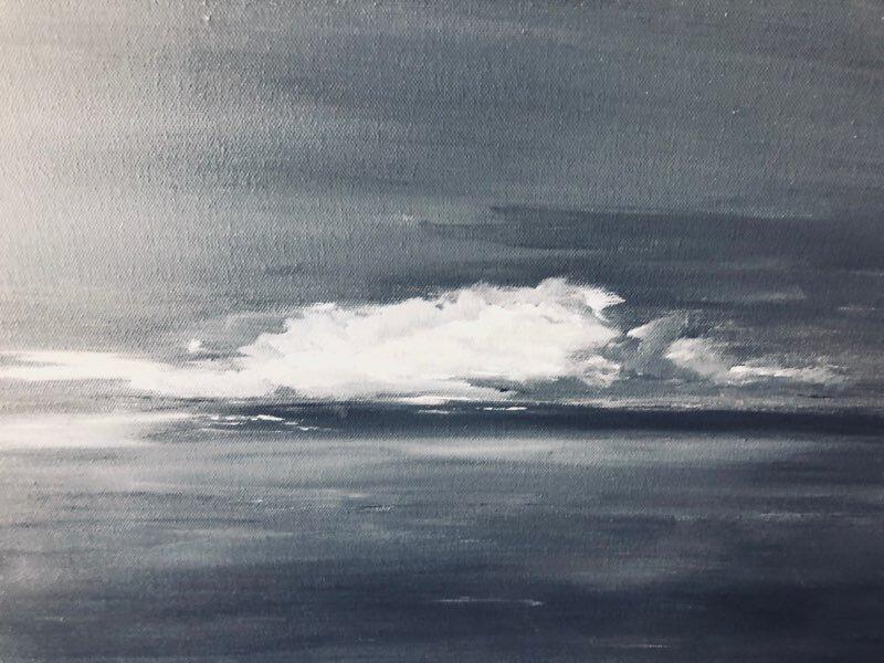 'Thunderstorm over Lake Champlain'