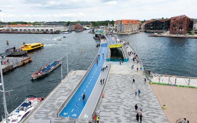 Copenhagen's Inderhavnsbro - Inner Harbour Bridge - Photo: City of Copenhagen