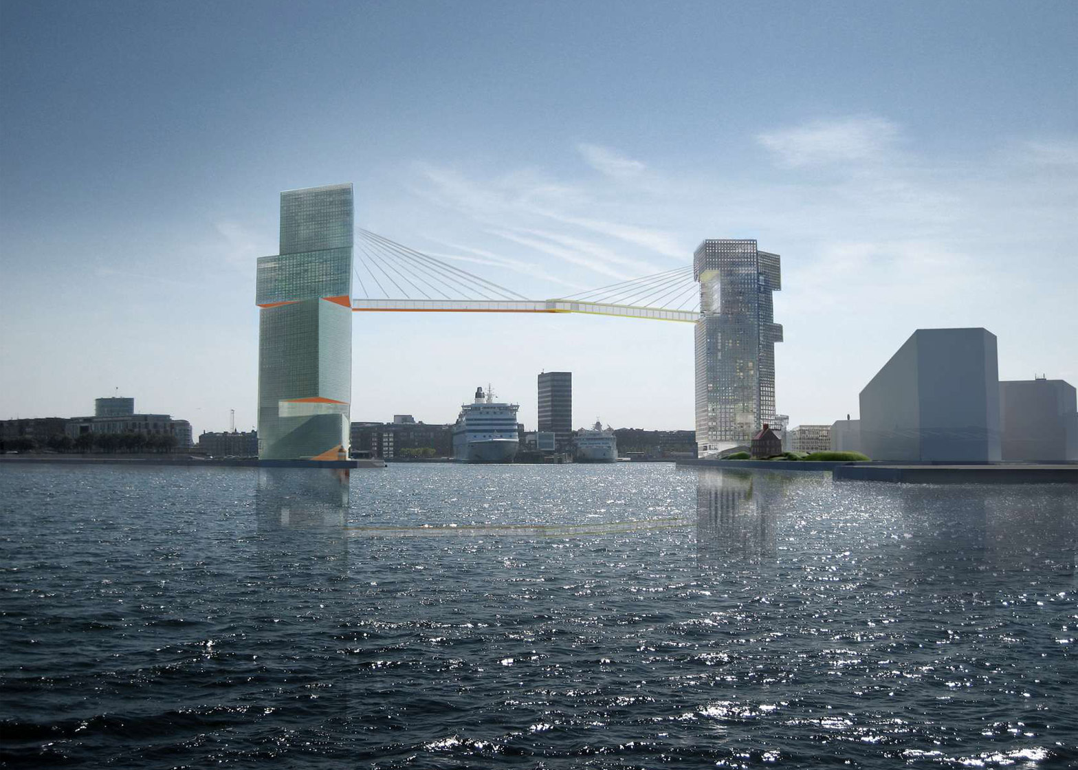 The proposed Copenhagen Gate