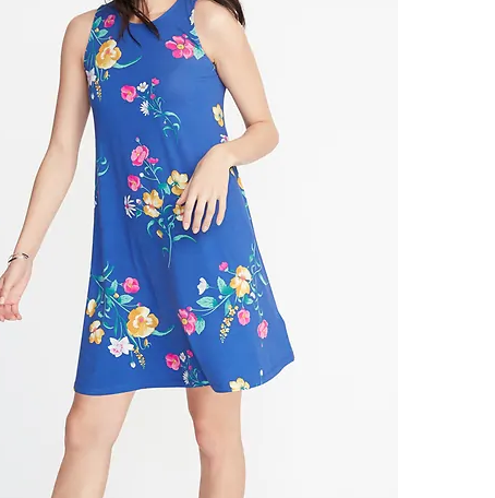 Effortless Dress - Having a dress with a good fit for you, fun details, and a nice print will always save the day. When on vacation this is the versatile piece you need to take you from day to night in a snap! Old Navy is a go-to destination for me in this category and this is my favorite one this season!