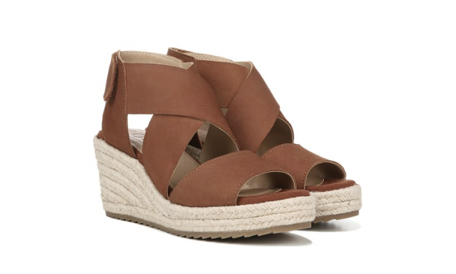 Espadrilles or Wedge Sandals - I love my Birkenstocks, I wear them all the time and talk about them all the time! However, sometimes you need a comfortable sandal that is has a more elevated look to wear in the spring.Click image to shop.