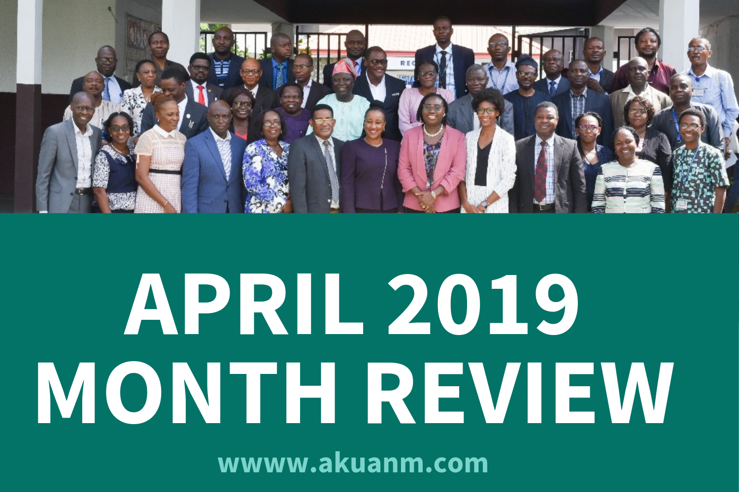 April Month Review Banner