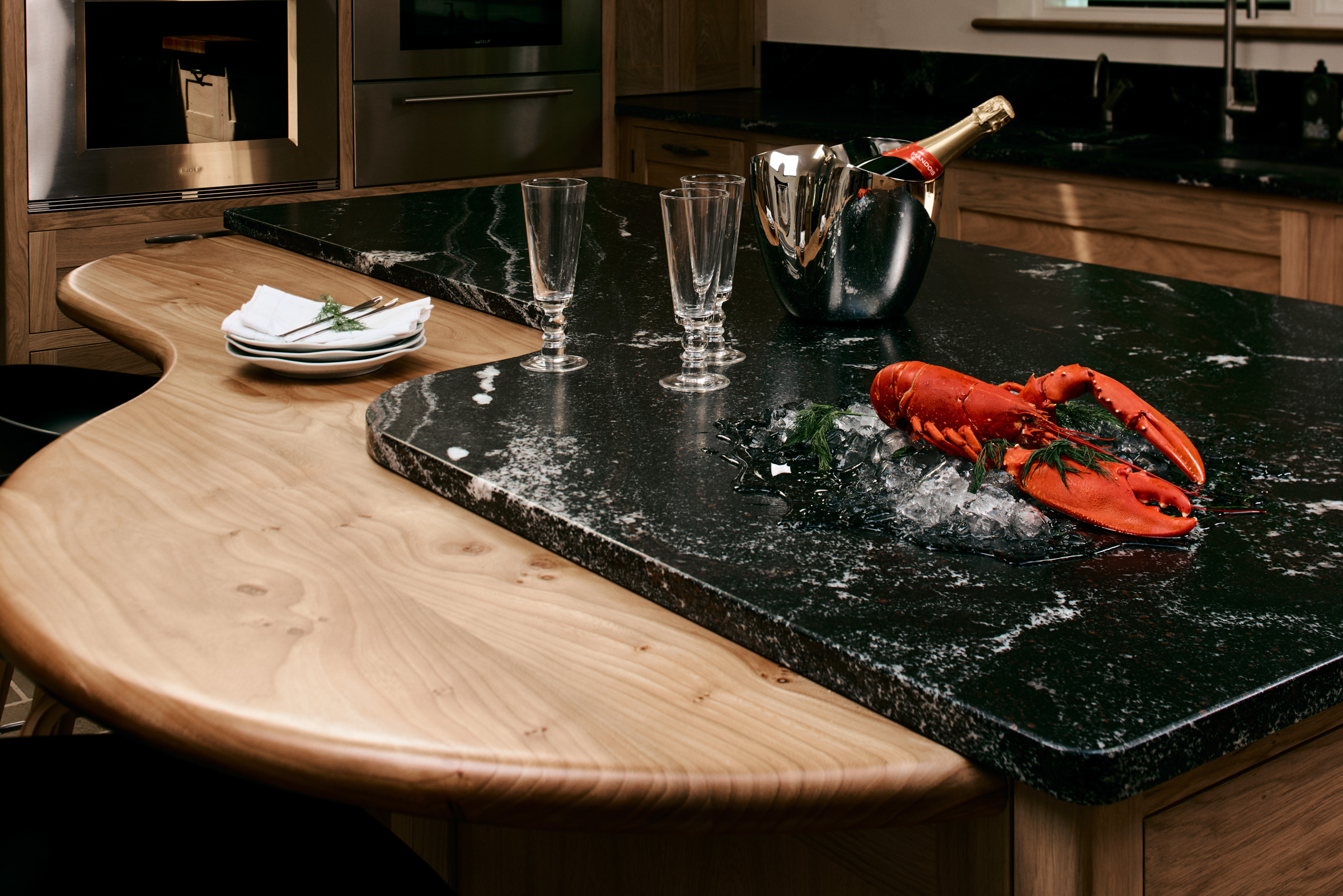Lobster and Fizz -