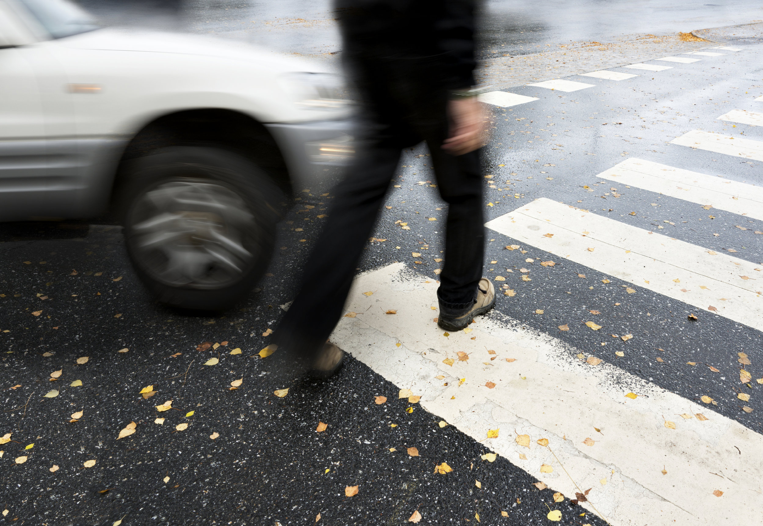 A pedestrian accident can occur if a driver is distracted, speeding, or disobeying traffic signals.