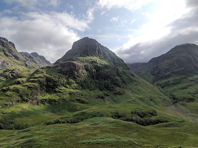 #nofilter view of #glencoe #highlander #highlandprivatetours #highlands #scotlandhighlands #scottishscenery