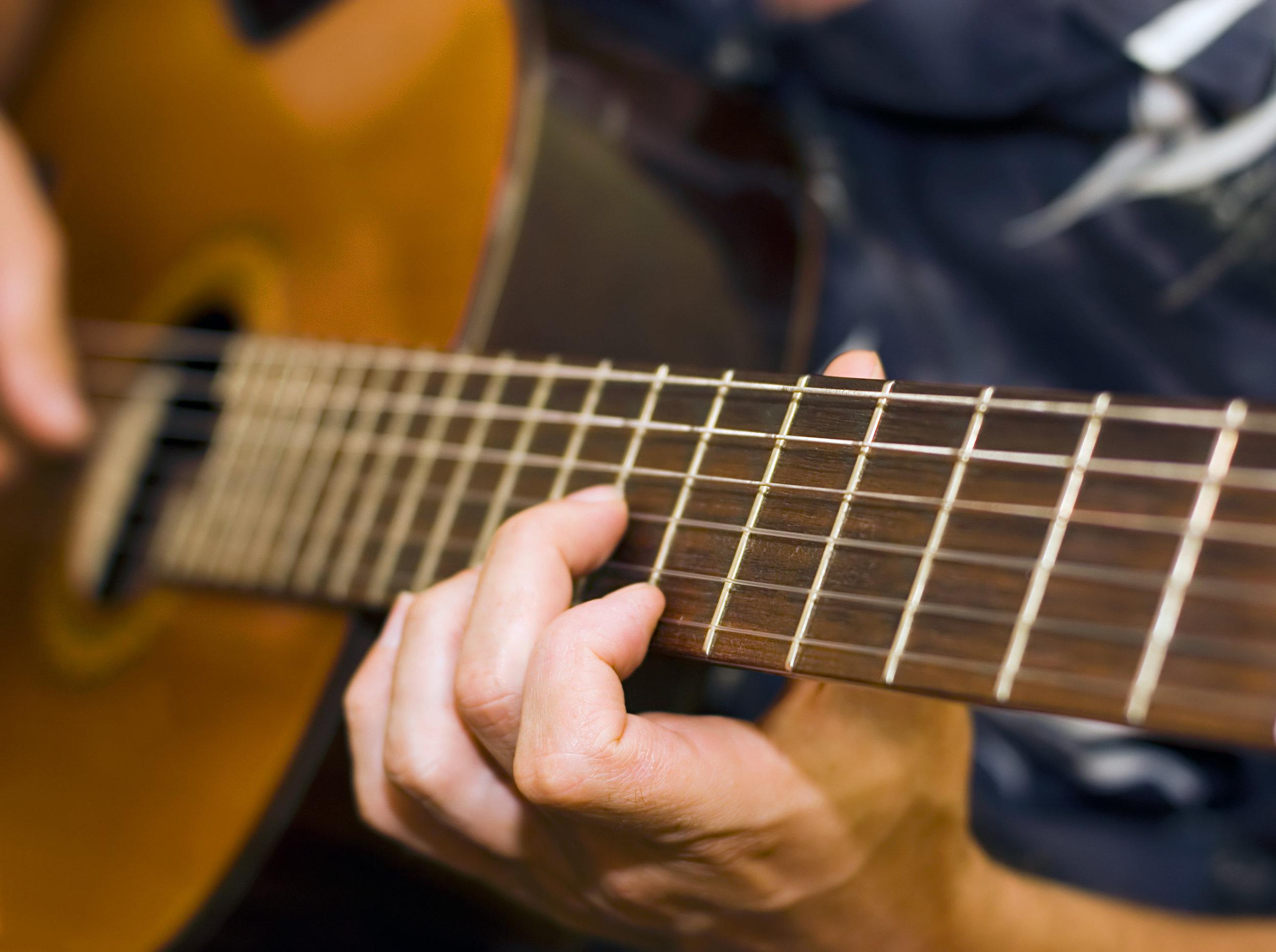 Acoustic Guitar Lessons -