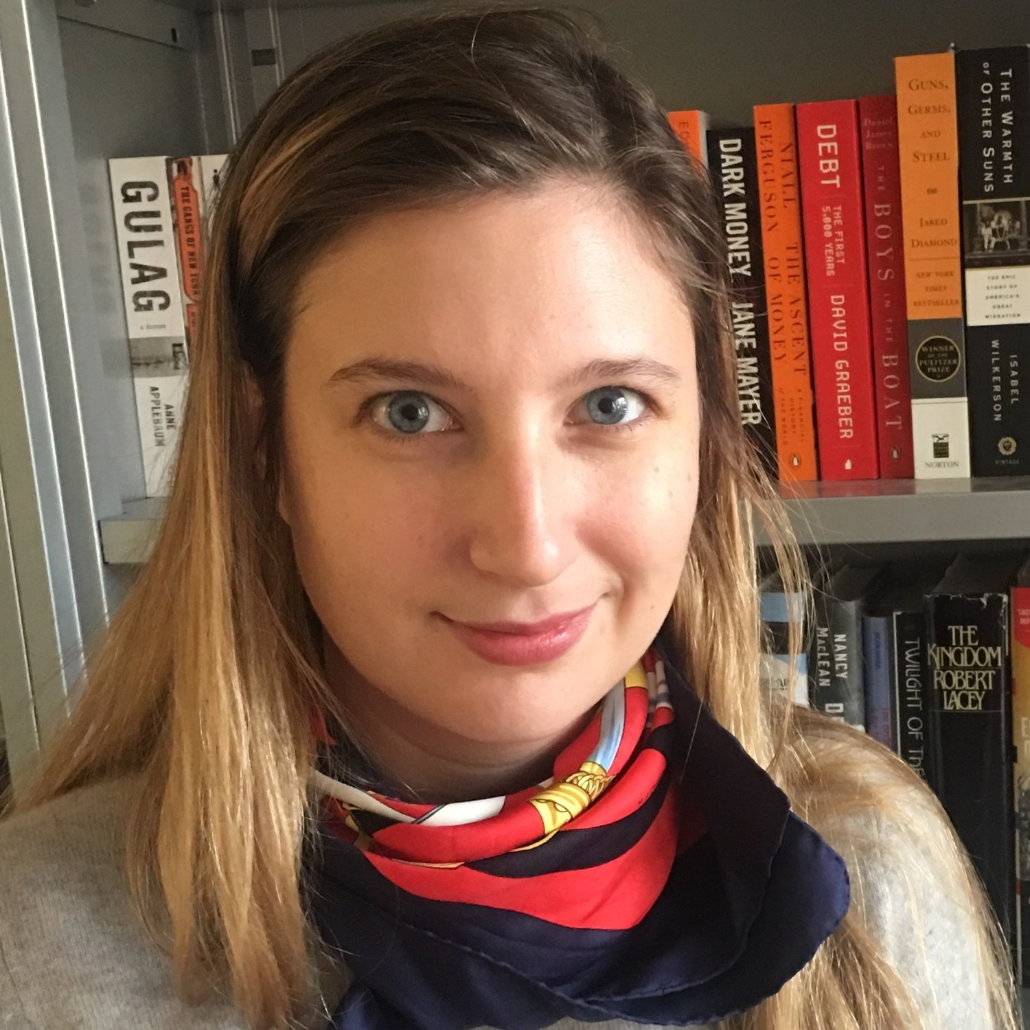 Claire Potter - Claire Potter is an associate editor of literary and serious nonfiction at Crown Publishers, a division of Penguin Random House. She has previously worked at Words Without Borders, the Feminist Press, and Guernica.
