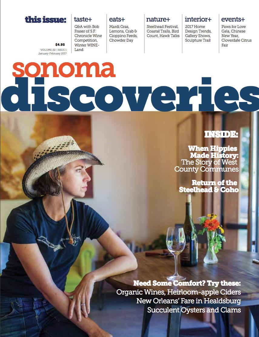 Sonoma Discoveries - 2017 Jan-Feb