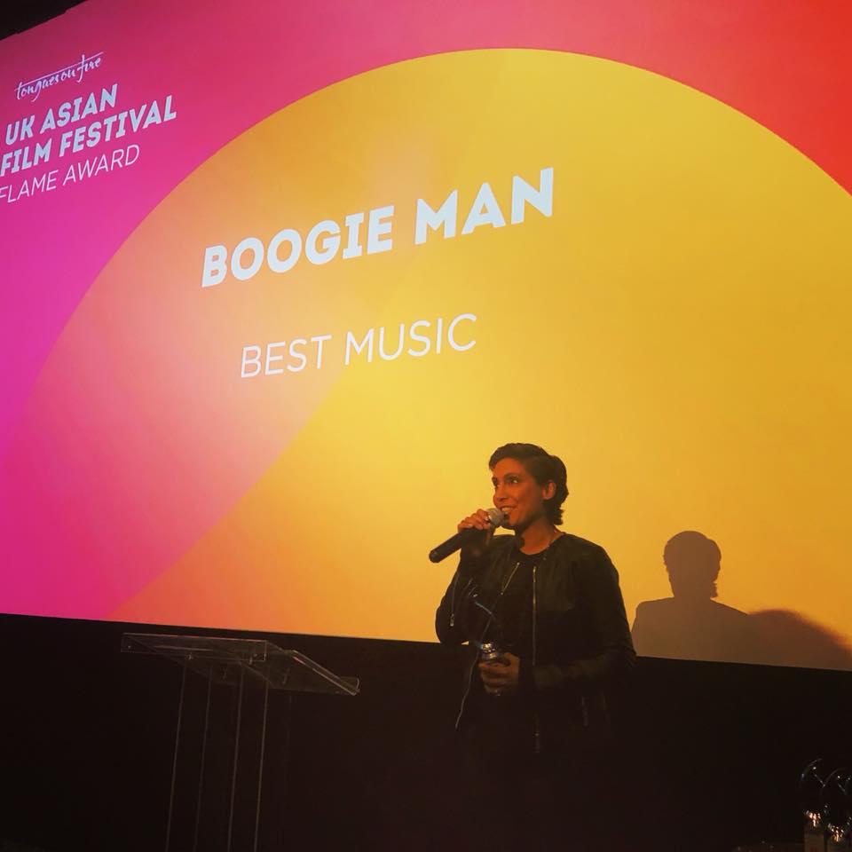 'Boogie Man' wins Best Music at the UK Asian Film Festival London.
