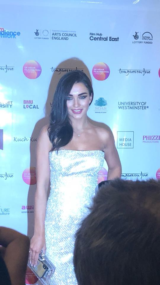 Amy Jackson at the 'Boogie Man' premiere.