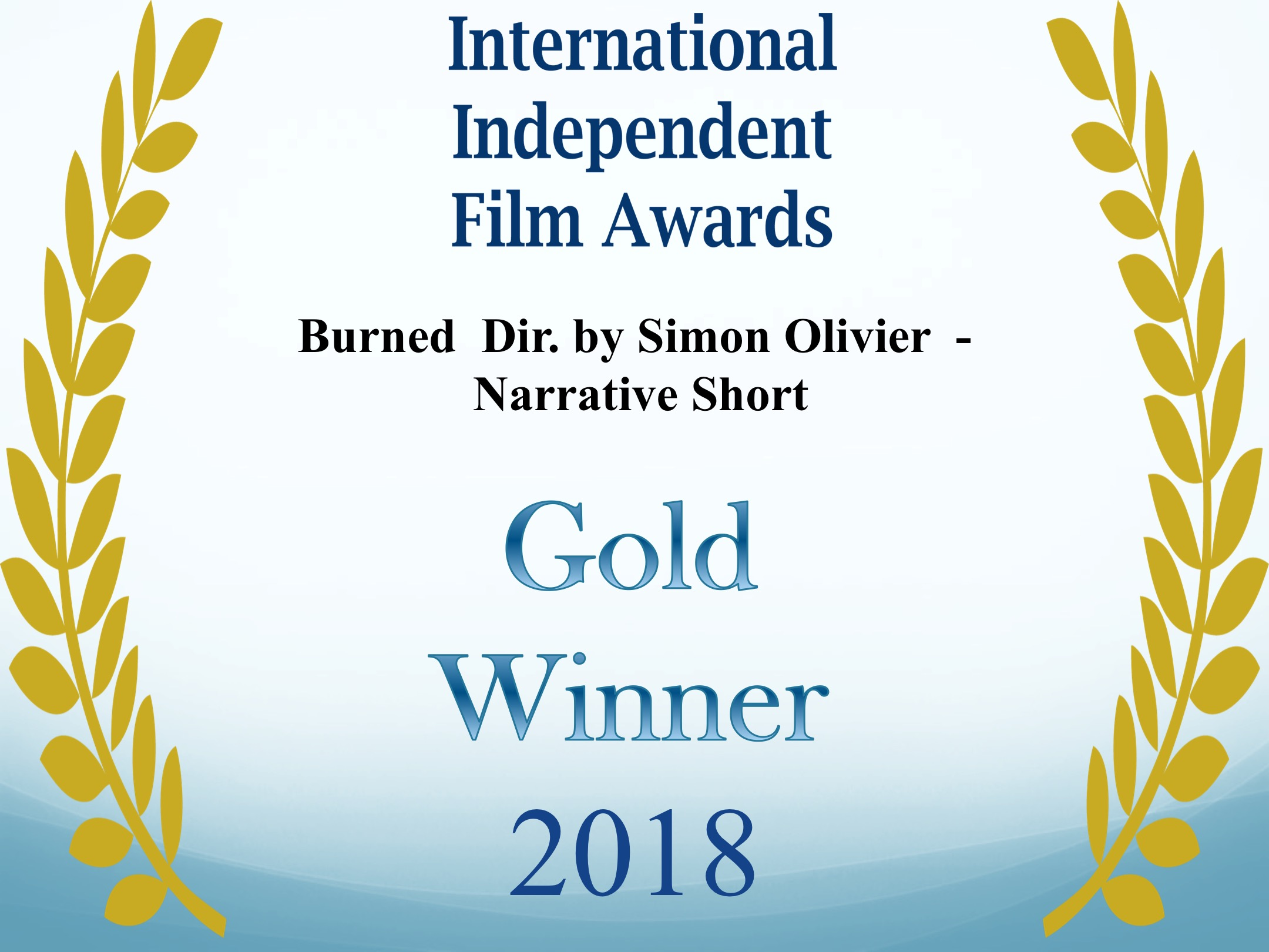 WINNER - GOLD - International Independent Film Awards - Narrative Short (Official - awful).jpg