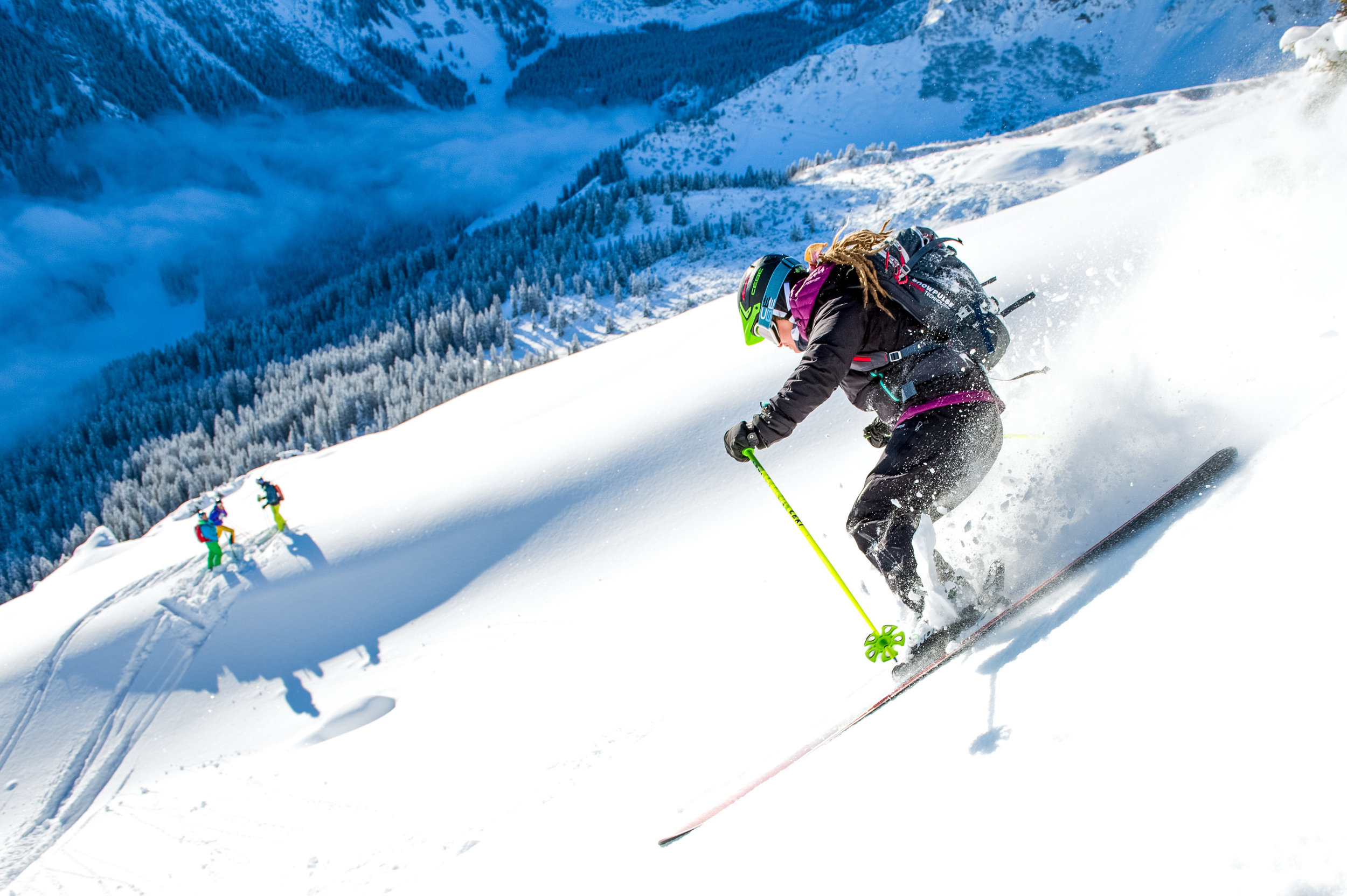 1 day at the Arlberg= 360€/1PAX +30€ each additional Person - 1 day = 4hours + break