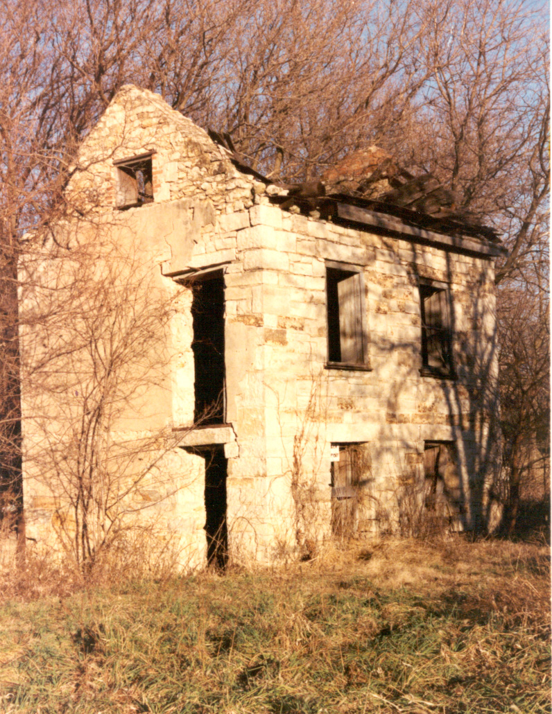 Banks Ferry House at Iowa Point