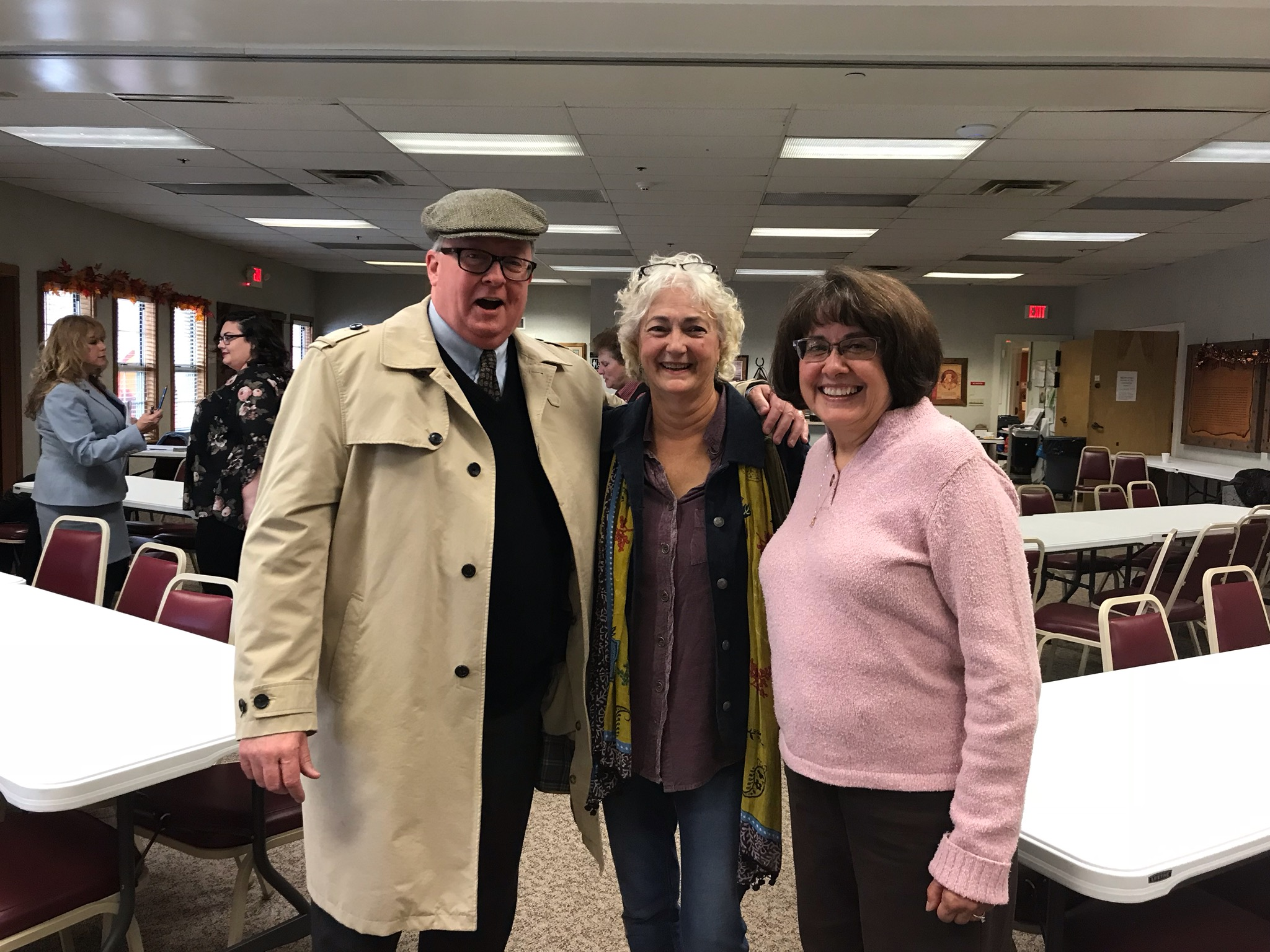 Mayor McMurray-Janet Sourk and Jackie Lewin at Charrette.jpg