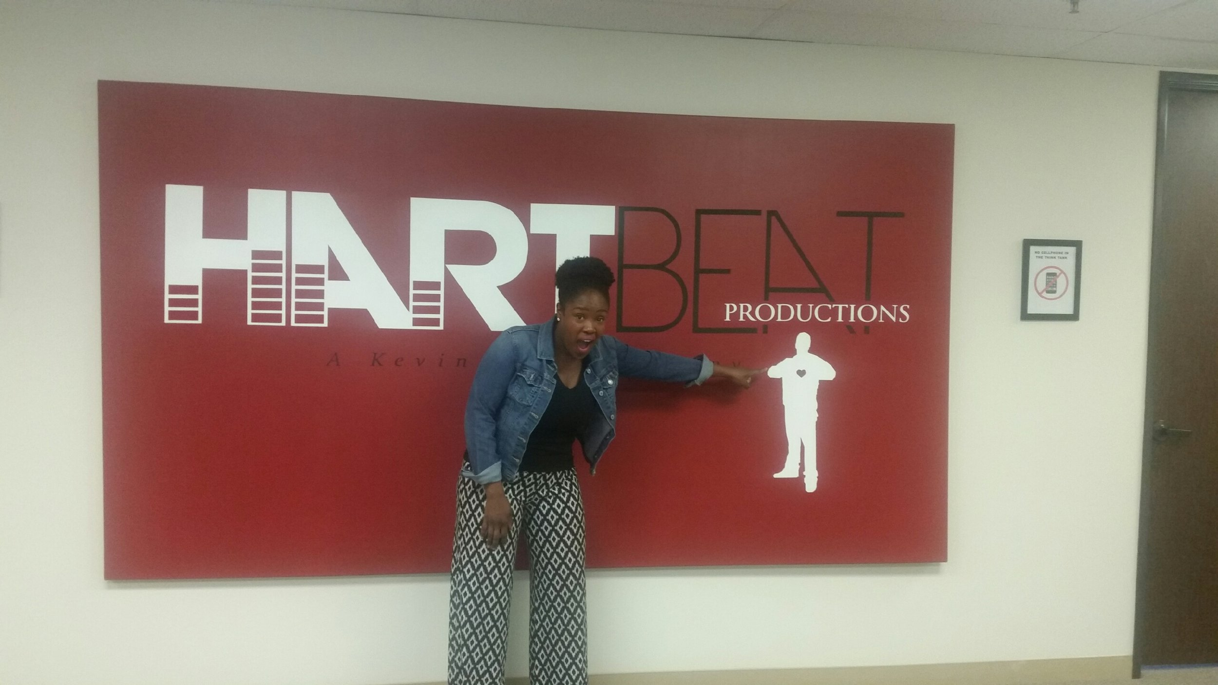 Akilah at HartBeat Productions!