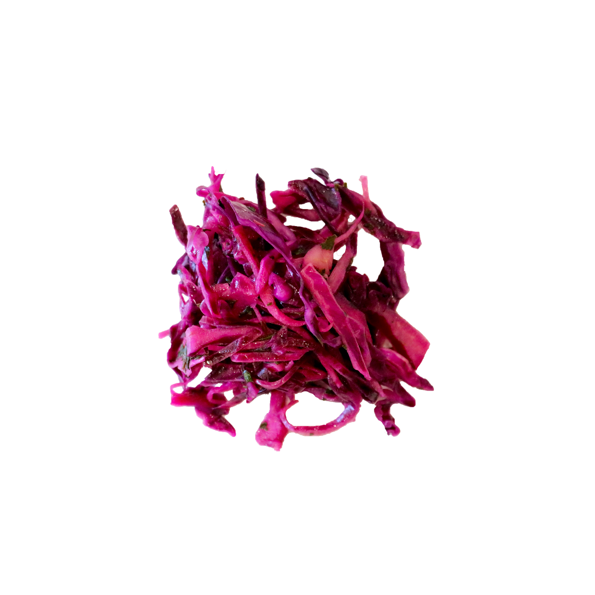 Pickled Red Cabbage - Red cabbage with fresh herbs , vinegar, lemon juice, salad oil and a hint of salt.Vegan | Gluten- Free